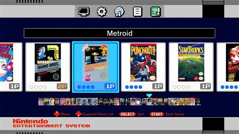 Snes Nintendo Entertainment System Classic Edition Console 1 mini nes classic edition s hub menu revealed in new