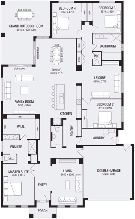 metricon floor plans lincoln 37 metricon homes pretty much perfect single