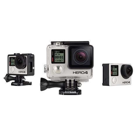 gopro 4 silver best buy new gopro actions cameras available at best buy