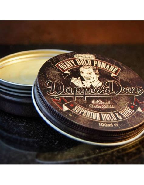 Pomade Dappers dapper dan heavy hold pomade 100ml gifts care