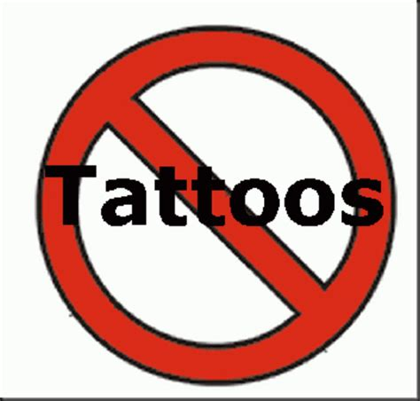 no colors no tattoos to loud really welcome to