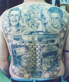 andy farley back tattoo video andy griffith full back tattoo tattooimages biz