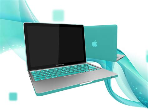 Color Keyboard Protector For Macbook 11 Blue Original100 2 rubberized shell keyboard cover for macbook pro