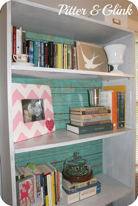 pitterandglink craft room redo laminate bookcase revived