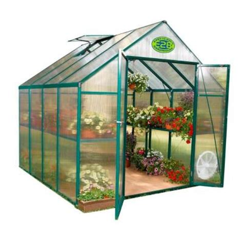 stc 8 ft x 8 ft greenhouse eg45808 the home depot