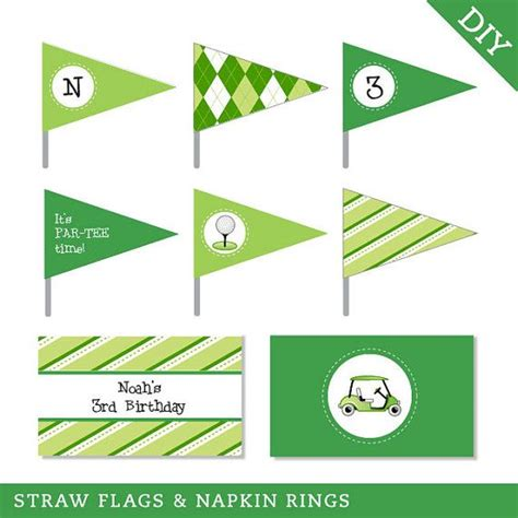 printable golf templates the masters golf party printables golf party