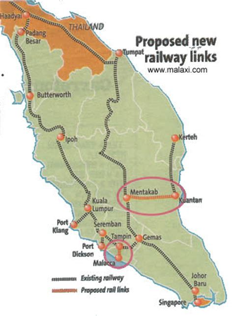 Ktm Malaysia Map Malaysia Ktm