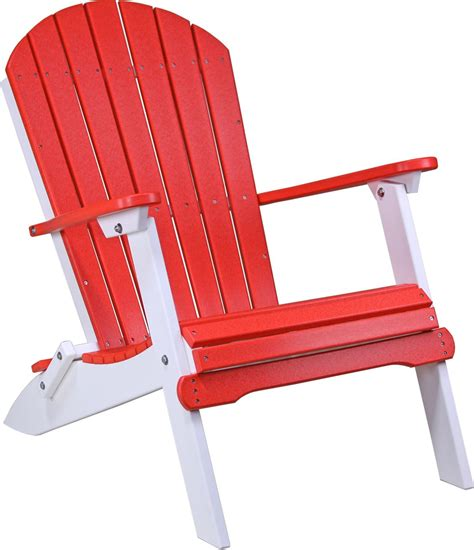 Foldable Adirondack Chair by Four Seasons Furnishings Amish Made Furniture Luxcraft