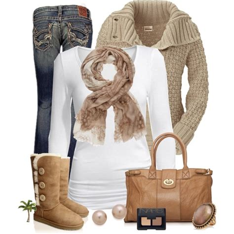 chic comfortable winter outfit ideas