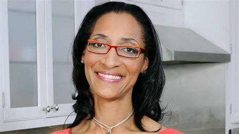 carla hall the chew gray hair interview the chew s carla hall talks cooking
