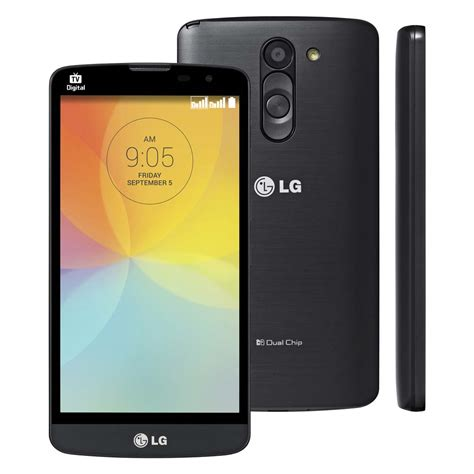 Tv Digital Lg smartphone lg l prime 226 nio tela de 5 tv digital dual chip android 4 4 c 226 mera 8mp