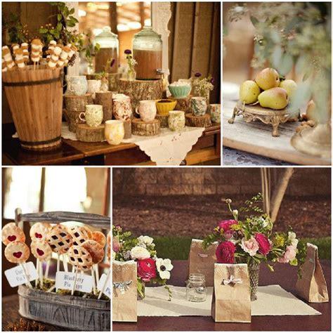 rustikale hochzeit inspiration dekoration und - Rustikale Tischdeko Scheune