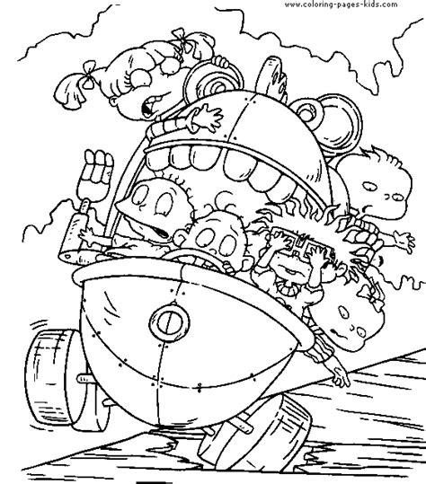 Rugrats Coloring Pages Rugrats Coloring Pages