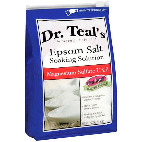 amazon com magnesium bath crystals 1 75 up to 14 baths bath dr teal s epsom salt soaking solution magnesium sulfate u