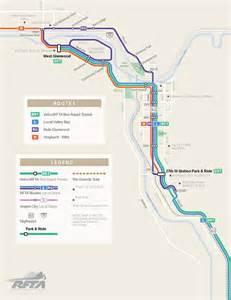 system map aspen glenwood springs routes rfta