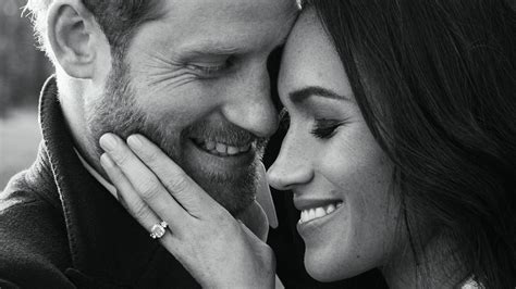 meghan harry prince harry and meghan markle engagement photos released