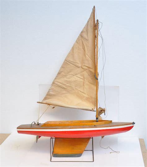 houten zeilboot houten model zeilboot jaren 50 catawiki