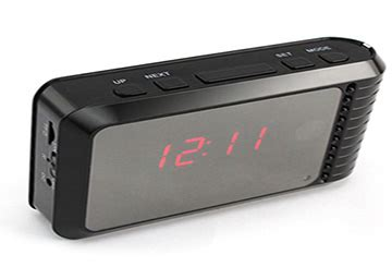 reeltime hidden camera alarm clock