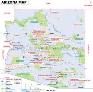 world map arizona map of arizona mapofmap1
