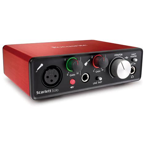 Focusrite 2nd Soundcard Audio Interace focusrite 2nd 171 audio interface