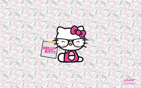 Wallpaper Hello Kitty Nerd | nerd backgrounds wallpaper cave