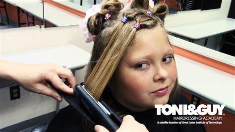 toni guy youtube toni guy hairdressing academy erie back to school look