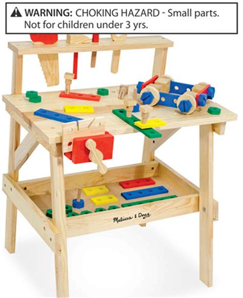 melissa doug tool bench melissa and doug toys wooden workbench kids baby macy s