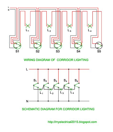 corridor light wiring diagram wiring diagram with