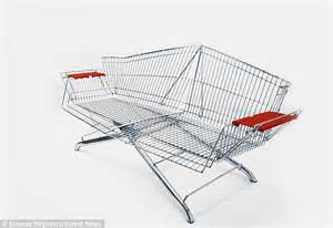 Shopping Chair by Etienne Reijnders Turns Discarded Shopping Trolleys Into