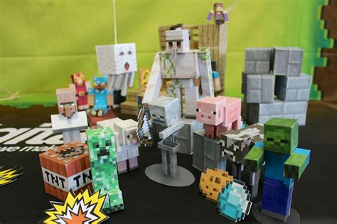 Minecraft Papercraft Mobs - minecraft papercraft studio now features mobs
