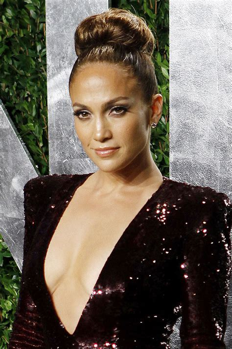 j lo ponytail hairstyles jennifer lopez red carpet hair