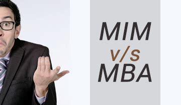 Why Mim And Not Mba wemakescholars best scholarship and internships