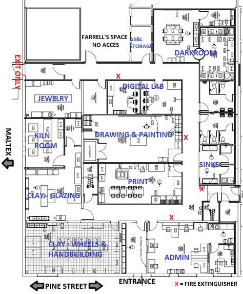 bca floor plan new burlington city arts studios open in the south end