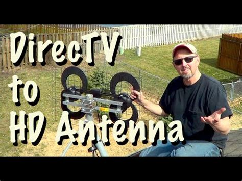 get free tv replace directv with an the air antenna