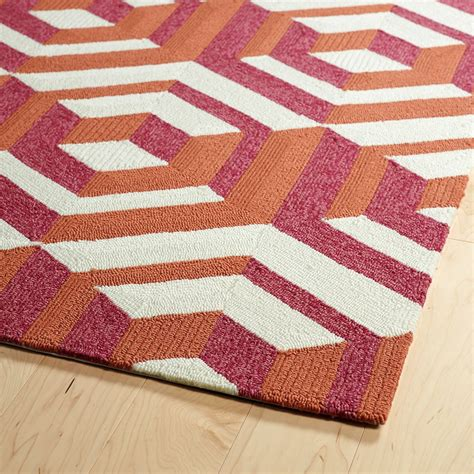 4x6 rugs cheap kaleen escape geometric indoor outdoor accent rug 4x6 save 76