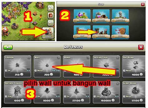 cara membuat clan di xshot safinatun naja tips membangun wall clash of clans terbaru