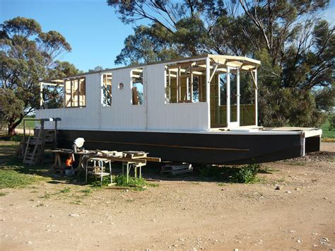 houseboat construction houseboat building in australia build a houseboat