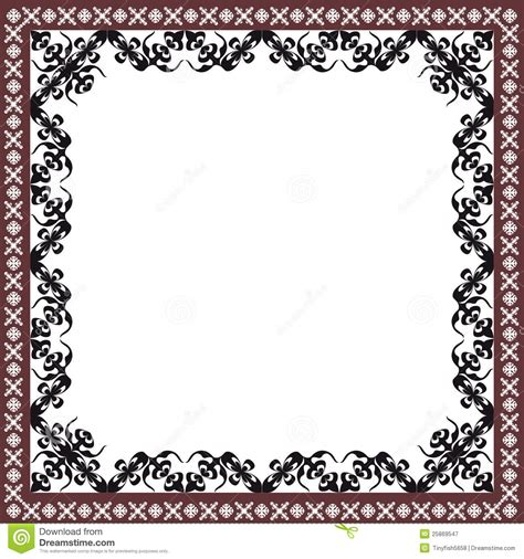 frame pattern free abstract stripe patterns background frame stock vector