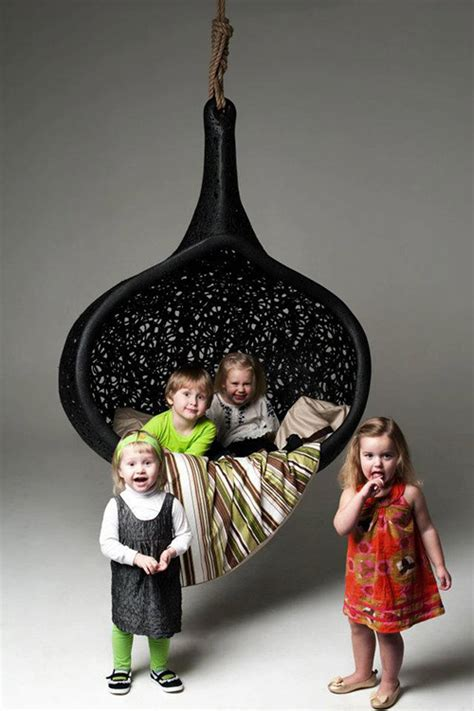 cool hanging chairs cool hanging chair made of volcanic rock by maffam freeform