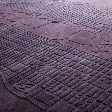 City Rug by Fabric Timezone And City Map Rugs By Four O Nine Homeli