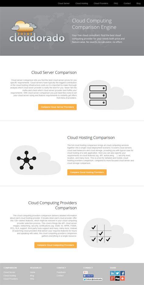 cloudorado launches  cloud computing comparison service