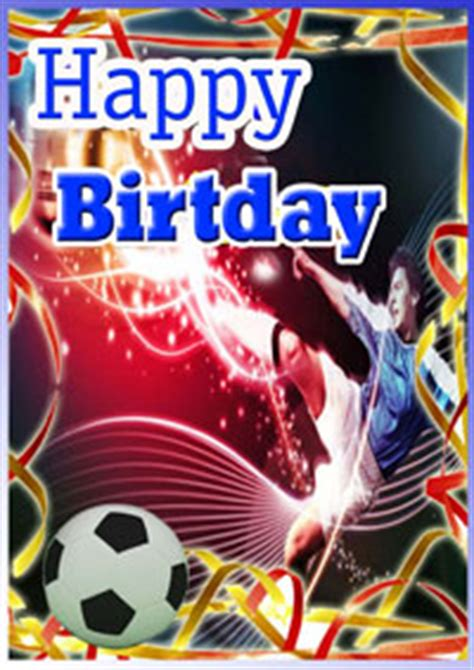printable birthday cards soccer soccer birthday party card with kids greetings and verses