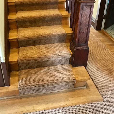 Carpeted Stairs Enhance McMinnville Home's Historic Feel