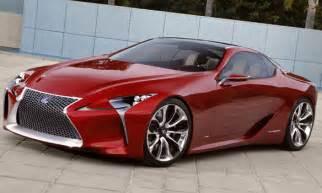 lexus lf lc hybrid sport coupe concept vehicle