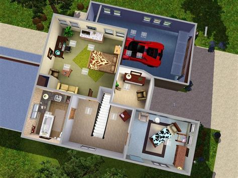 modern loft floor plans mod the sims modern loft
