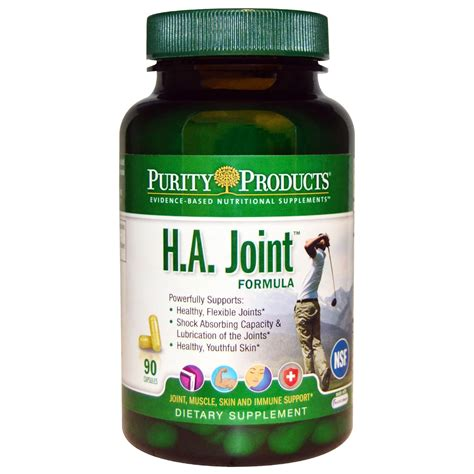 supplement purity purity products h a joint formula 90 capsules iherb
