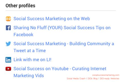 Social Profile Search How To Social Media Profile Optimization For Search Engines