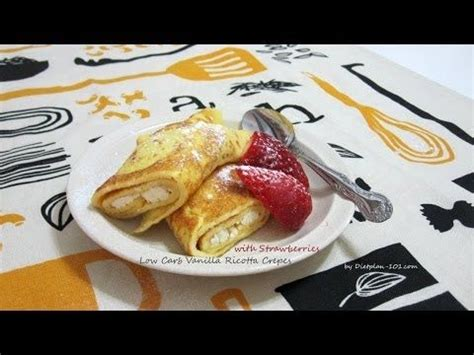atkins induction phase cheesecake low carb vanilla ricotta crepes with strawberries for south phase 2 recipe