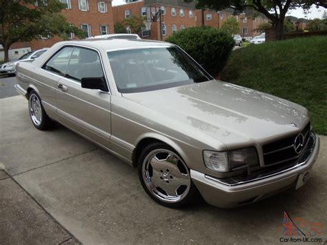 1987 mercedes 560sec 1987 mercedes 560sec 2 door coupe