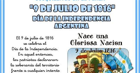 Resumen 9 De Julio by Apoyo Escolar Ing Maschwitzt Contacto Telef 011 15